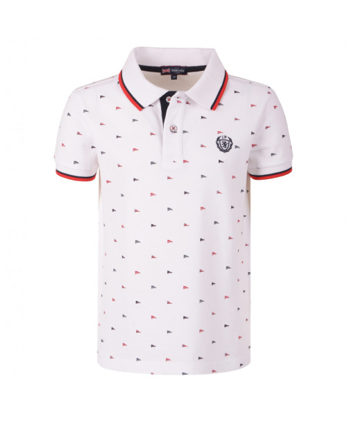 POLO ESTAMPADO BANDERAS.